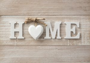 Home,Sweet,Home,,Wooden,Text,On,Vintage,Board,Background,With